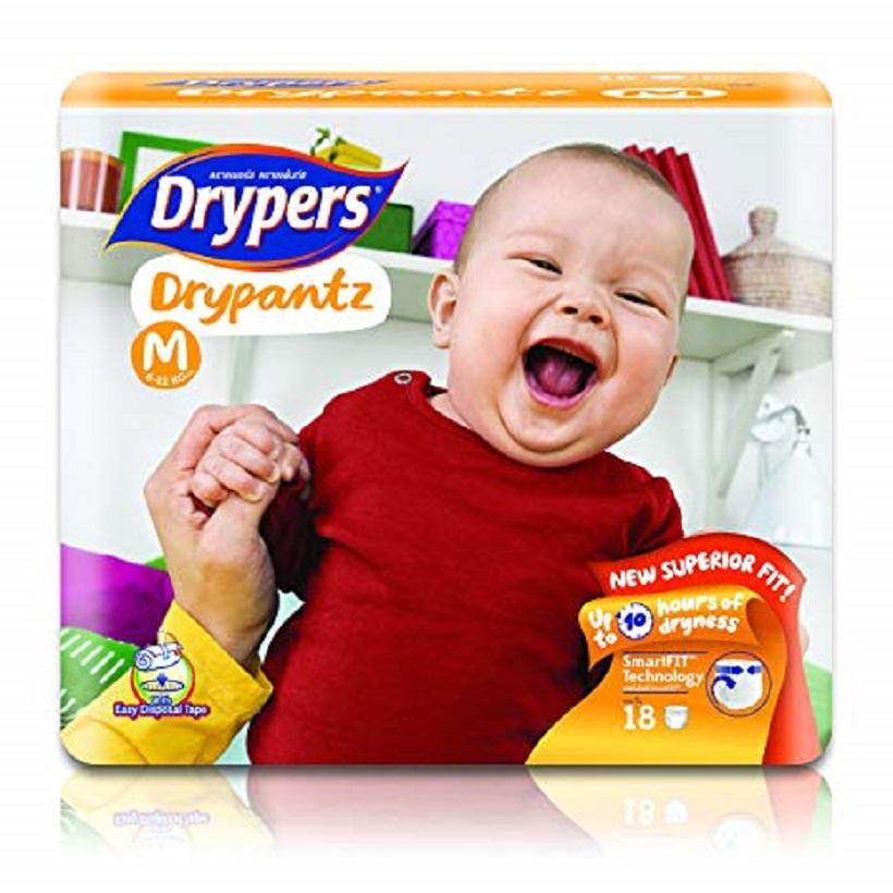 Tã bỉm quần DRYPERS DRYPANTZ M18 (bé 7 - 12 Kg)