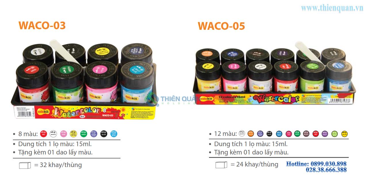 Màu nước WACO 05