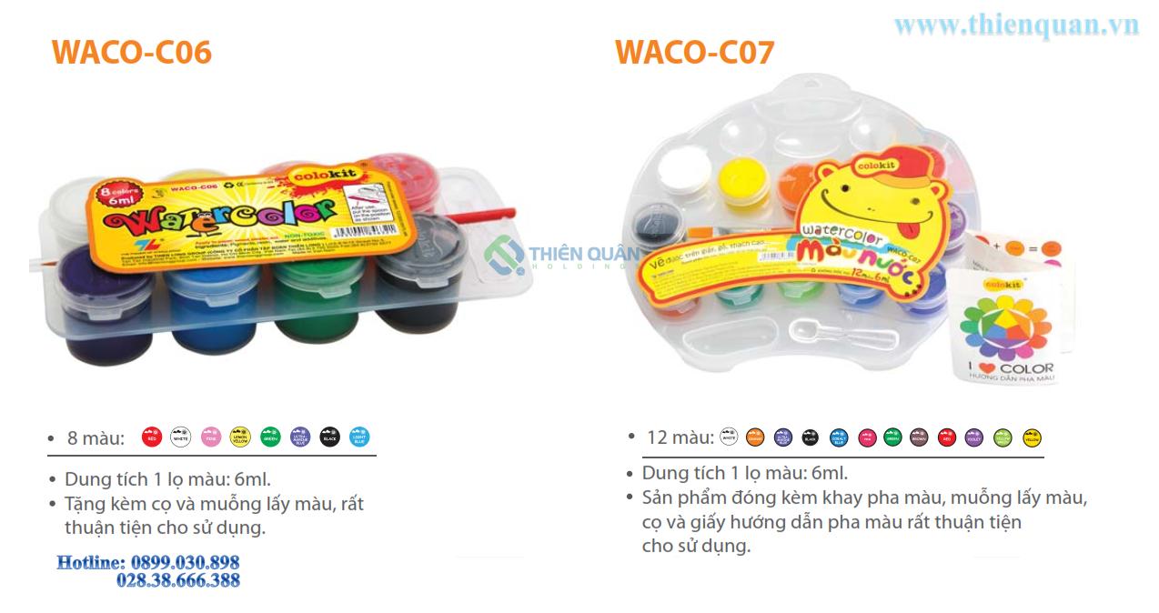 Màu nước WACO-C07