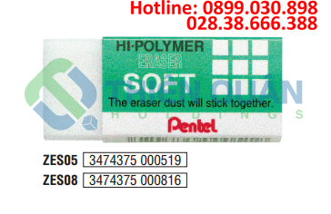 Tẩy chì siêu mềm Pentel - trung