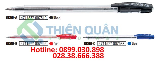 Bút bi nắp đậy - 0.7mm