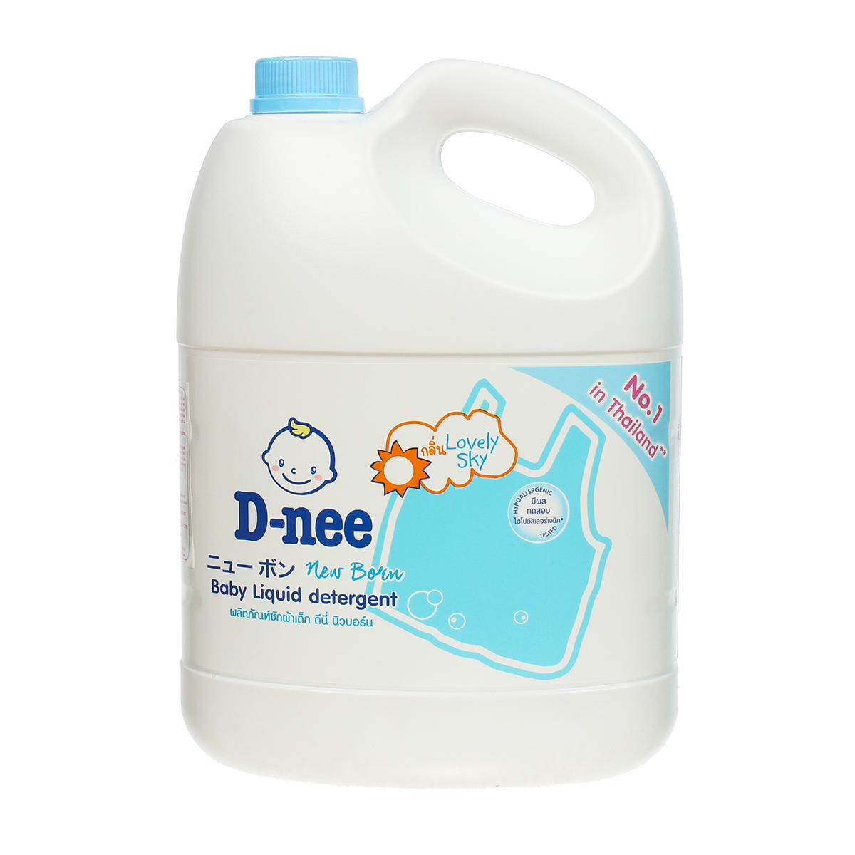 Nước giặt xả vải D-nee Thái Lan - 3000ml