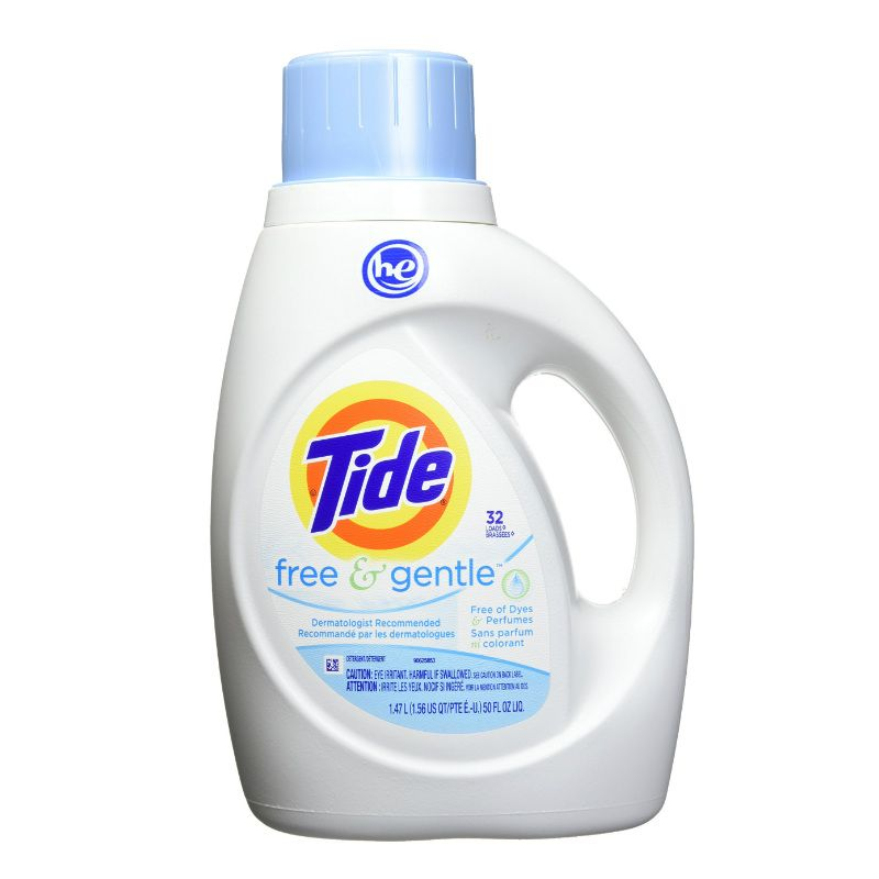 Nước giặt Tide Free & Gental 1.47L