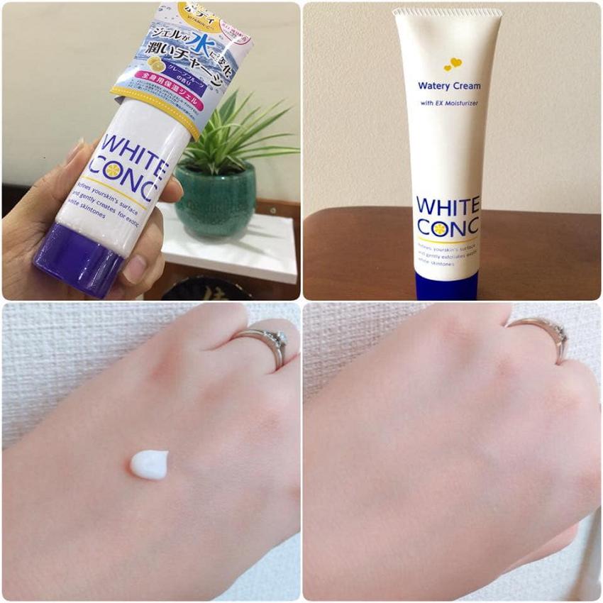 Kem Dưỡng Ẩm Trắng Da White Conc Watery Cream 90g (ban đêm)