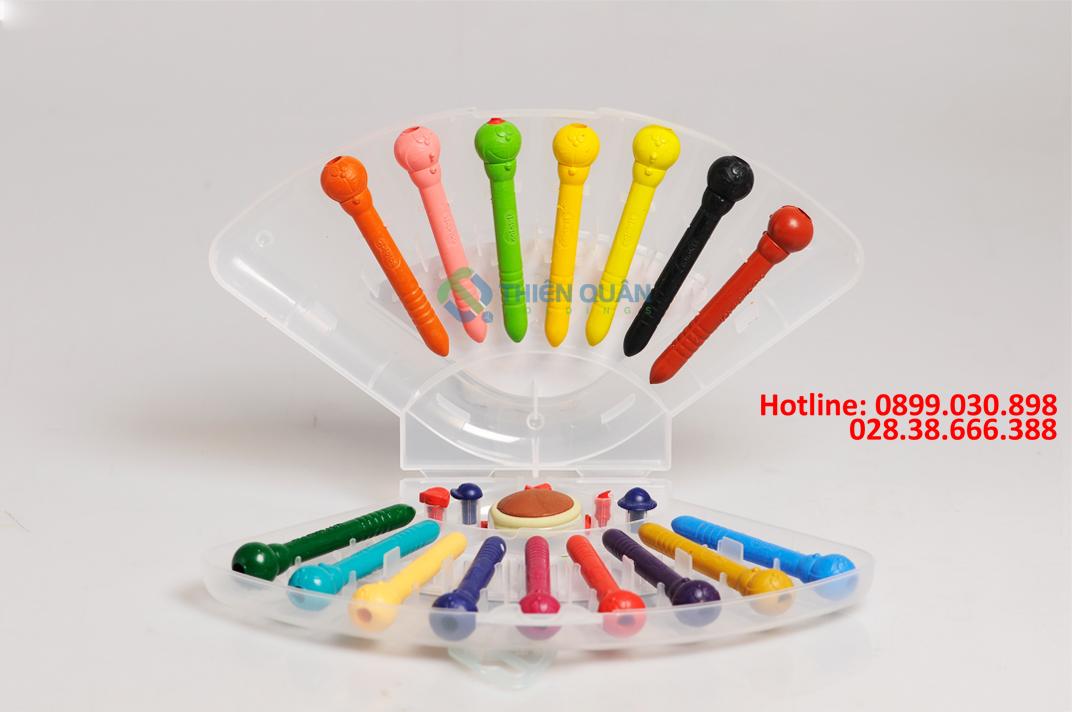 Bút nhựa màu PCR-C07/DO hộp 22
