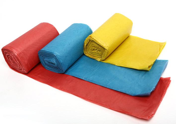 Túi rác cuộn loại đại 64x78 cm ( 3 màu)