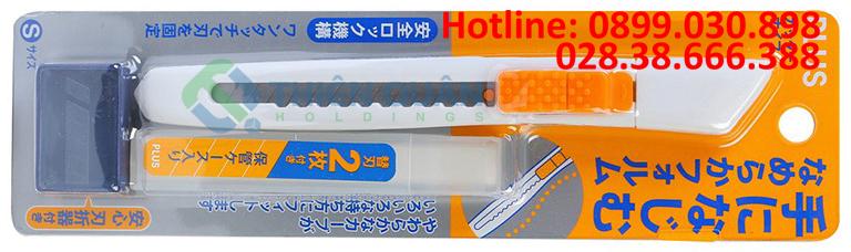 Dao rọc giấy SCU-001N WH (9mm)+ 2 lưỡi dao