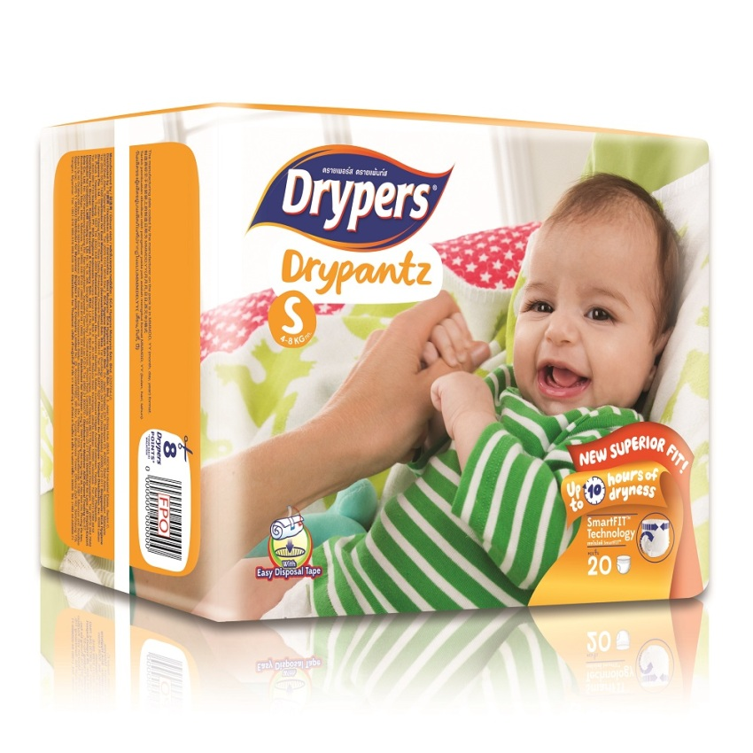 Tã bỉm quần DRYPERS DRYPANTZ S20 (bé 4 - 8 Kg)