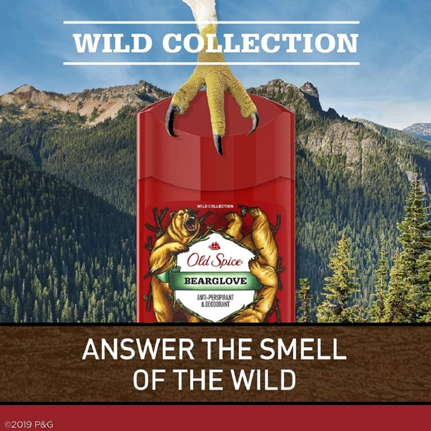 Sáp khử mùi Old Spice Bearglove 73g