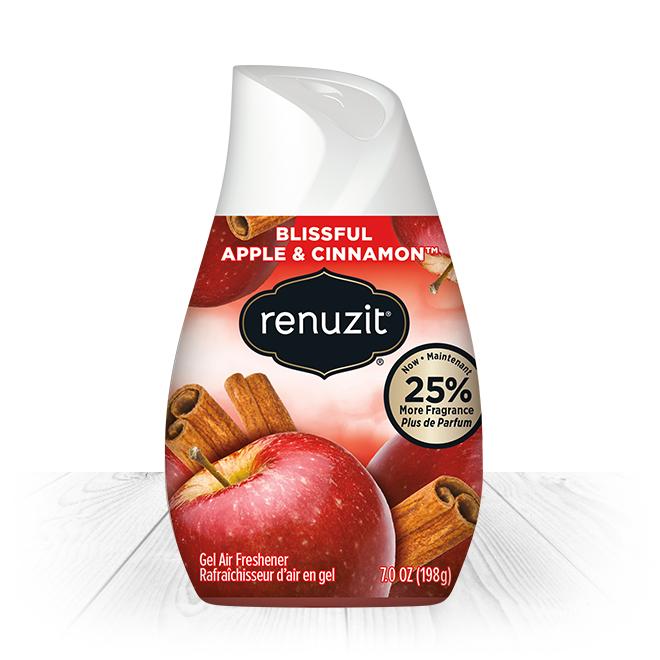 Sáp thơm phòng Renuzit Apple Cinnamon 198g