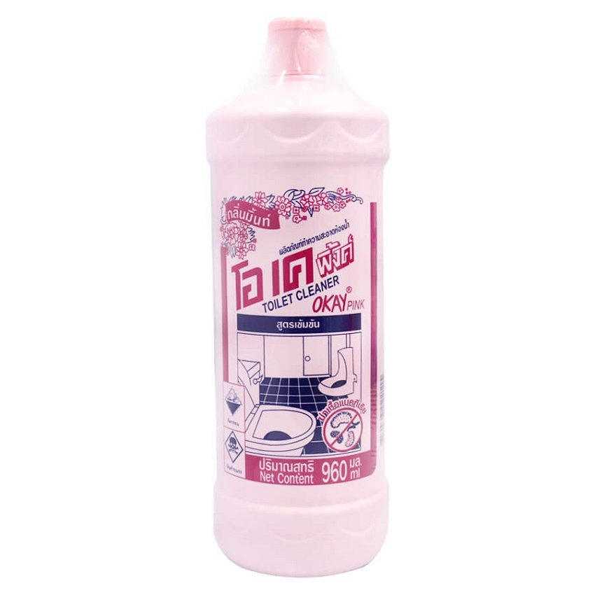 Nước tẩy Toilet OKAY Thái Lan - 960ml
