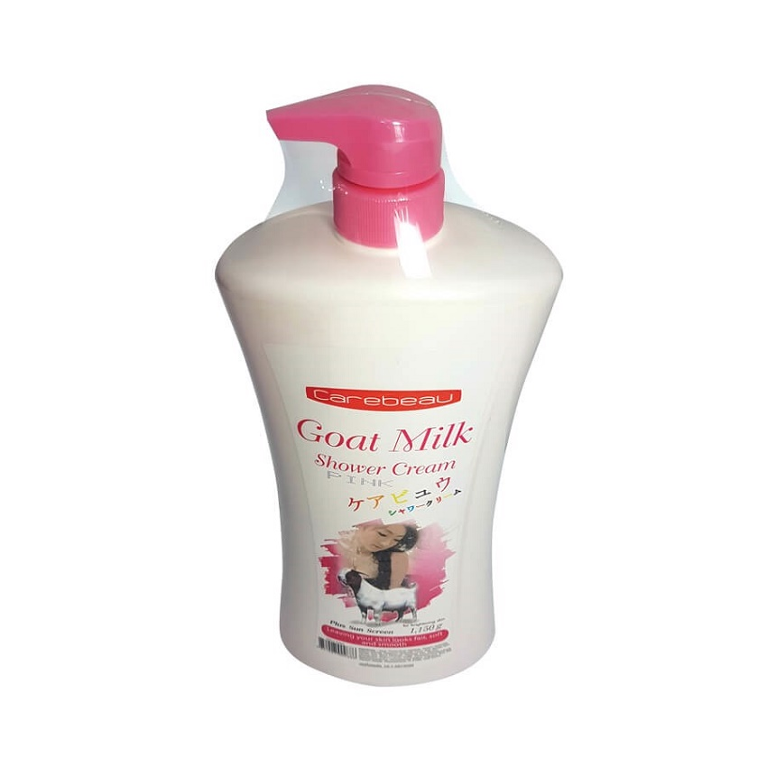 Sữa tắm CAREBEAU GOAT MILK Thái Lan- 1150ml