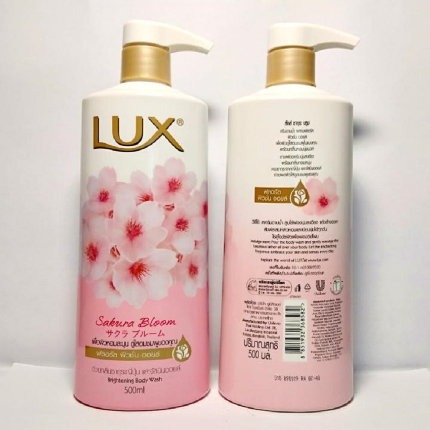 Sữa tắm LUX Thái Lan - 500ml