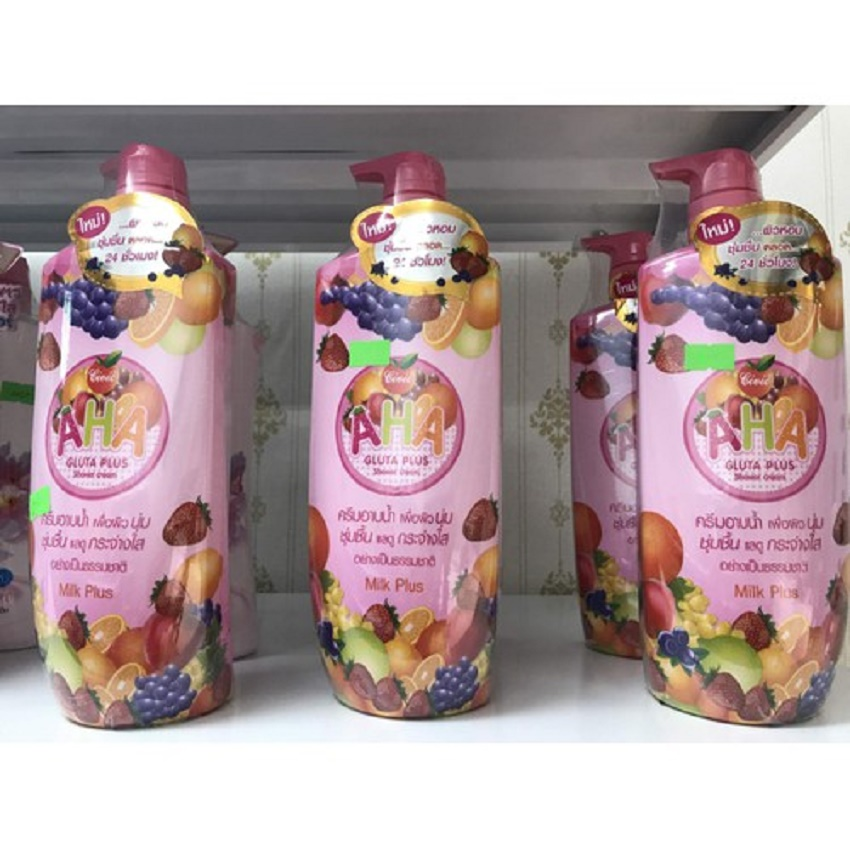 Sữa tắm trắng Civic AHA Gluta Plus Shower Cream Thái Lan - 700ml