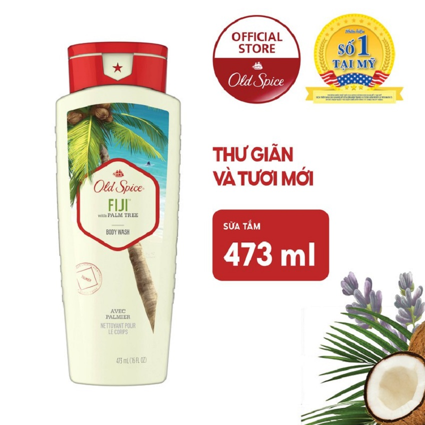 Sữa tắm Old Spice Fiji Body wash