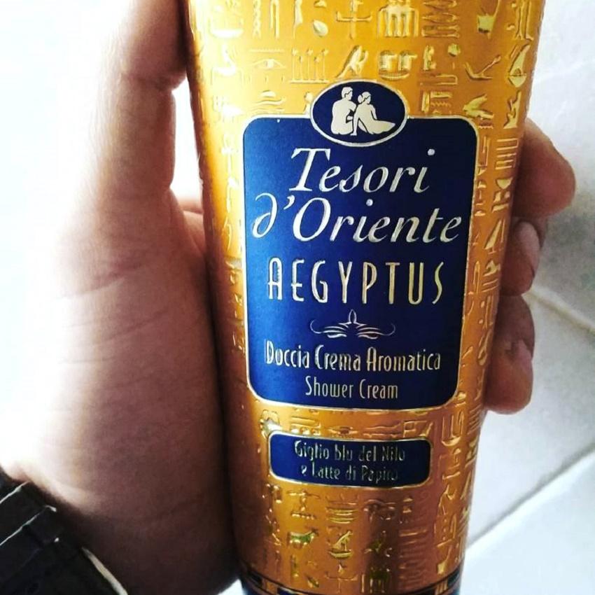 Sữa tắm xích Tesori D' Oriente Aegyptus Ý -  250ml thảo mộc Ai Cập
