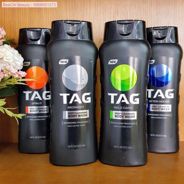 TAG Body Wash, Midnight 532ml