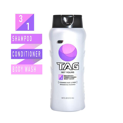 TAG Hair & Body Wash 3-In-1 Get Yours 532ml