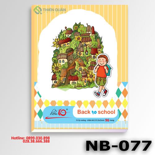 Tập NB77 Điểm 10 (96T-5 oly vuông)