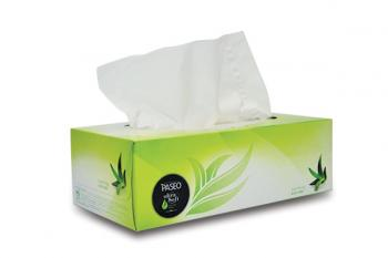 Paseo khăn giấy hộp Ultrasoft hương Alovera 95 tờ 3 lớp