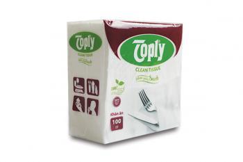Toply khăn giấy ăn 100 tờ