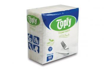 Toply khăn giấy ăn 50 tờ 1 lớp