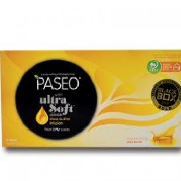 Khăn giấy hộp Paseo Ultra Solf Shea Butter (95 tờ)