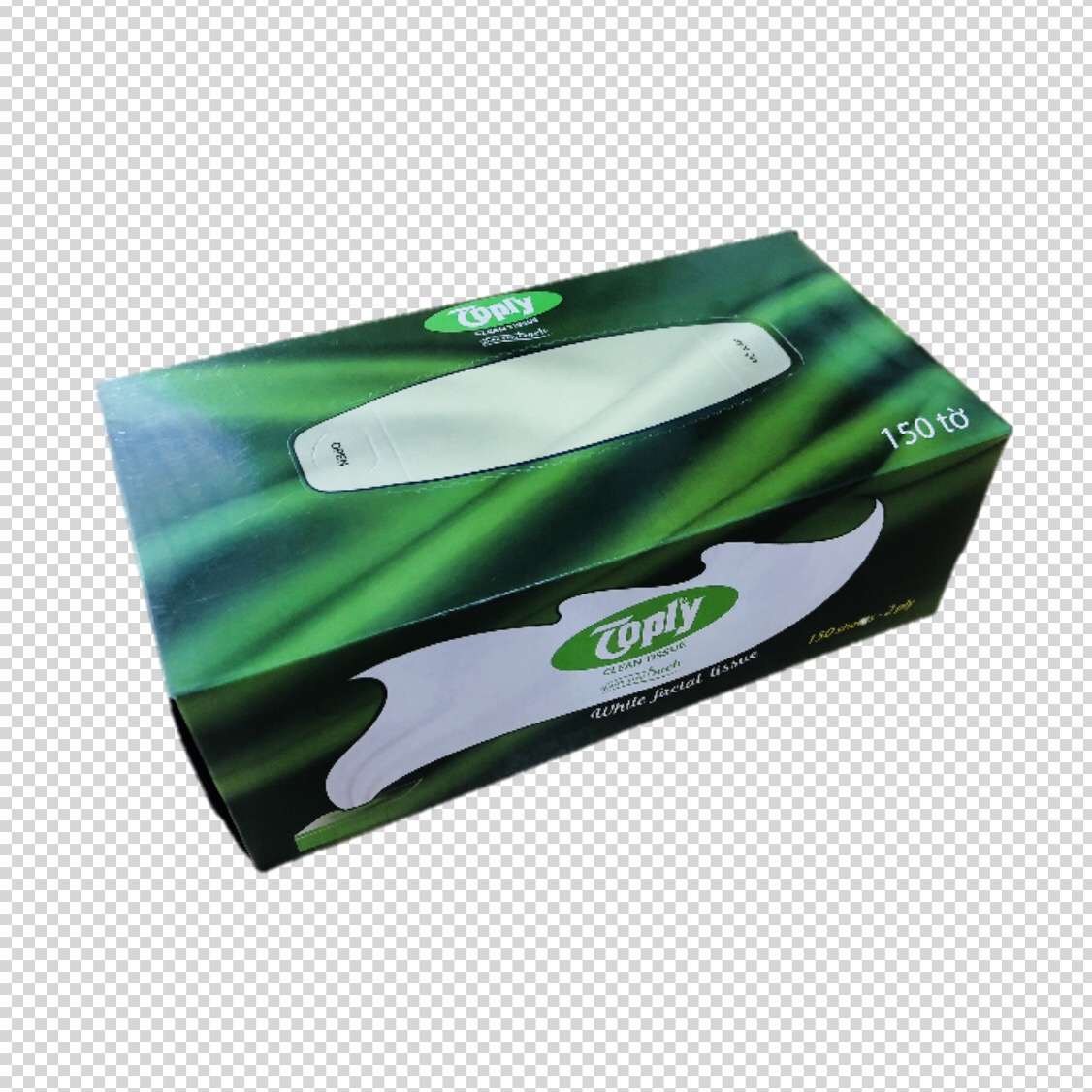 Khăn giấy hộp Toply 150 tờ