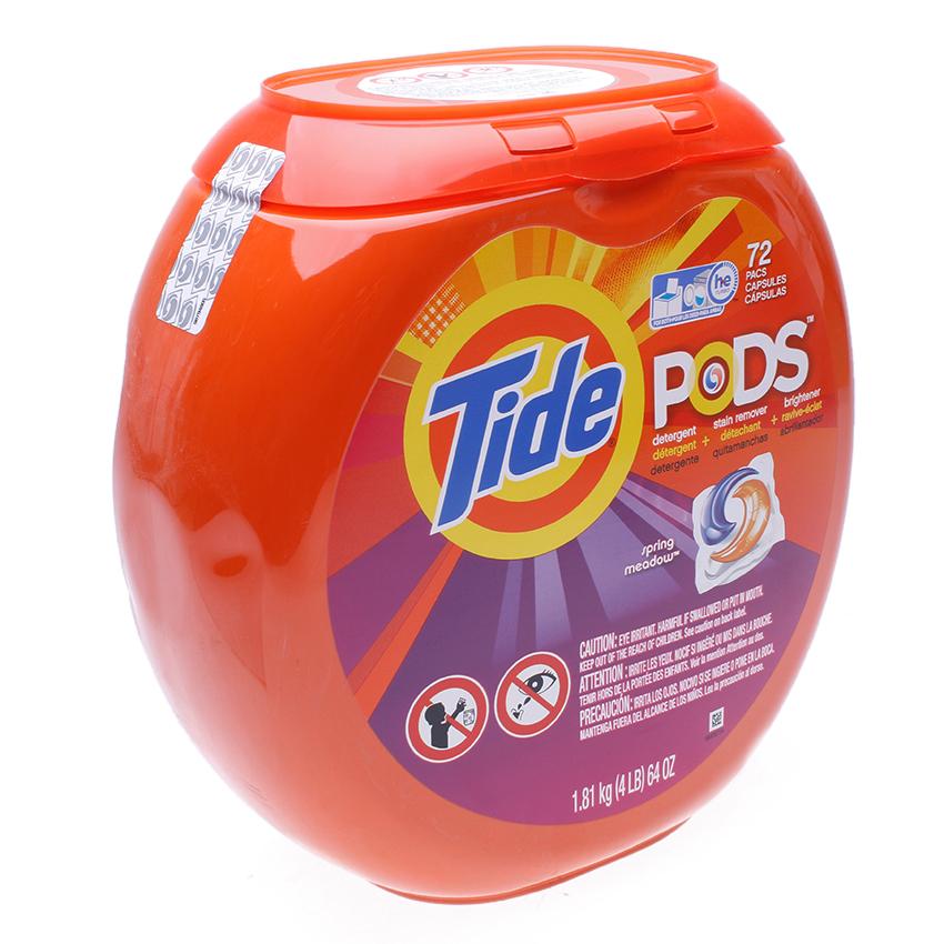 Viên giặt Tide PODS Spring Meadow 64oz - 72Counts