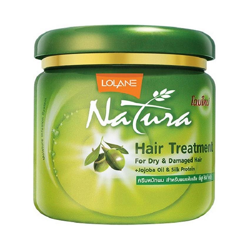 Kem ủ tóc tinh chất olive LOLANE NATURA Thái Lan - 500g tặng kèm hũ nhỏ
