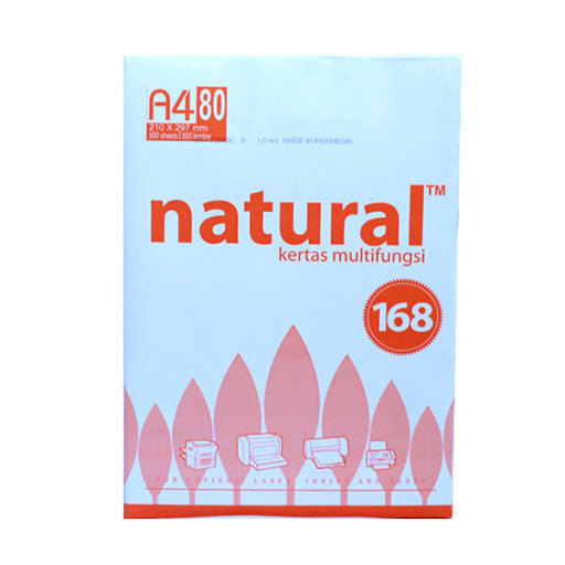 Giấy Natural 80gsm - A4 (Indo)
