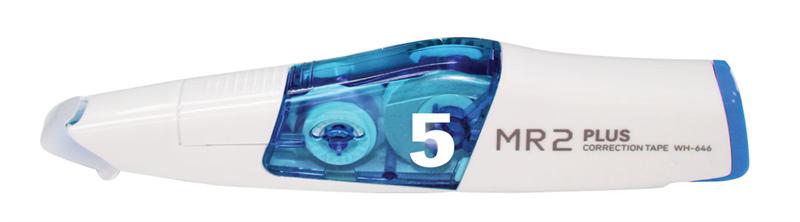 Băng xóa MR+ ruột (5mm x 6m)