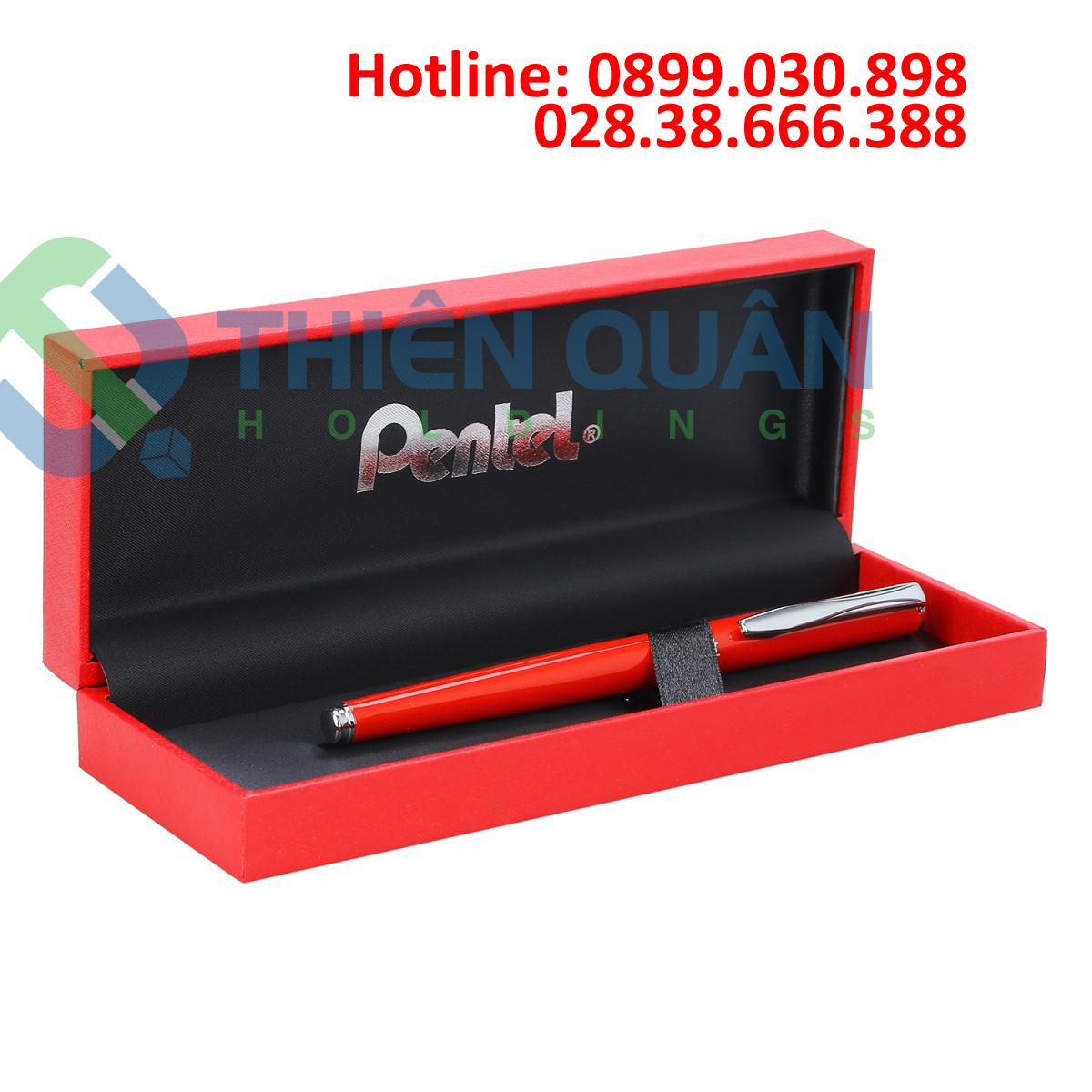 Bút ký mực gel cao cấp nắp vặn (có hộp)