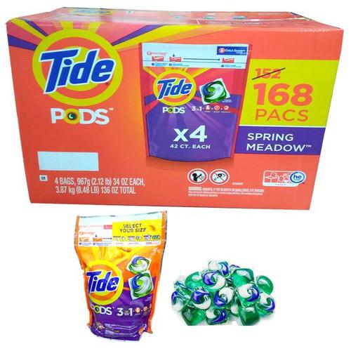 Viên giặt Tide PODS Spring Meadow 34 Oz - 42 pacs ( 42 viên ) - Hàng USA