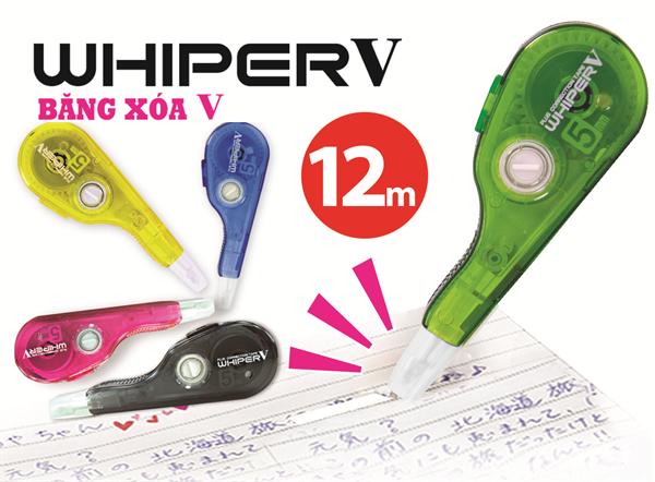 Băng xóa Whiper V (5mm x 12m)