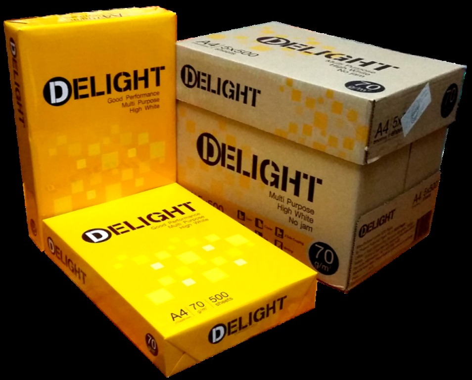 Giấy Delight 70gsm – A4 (Thailand)