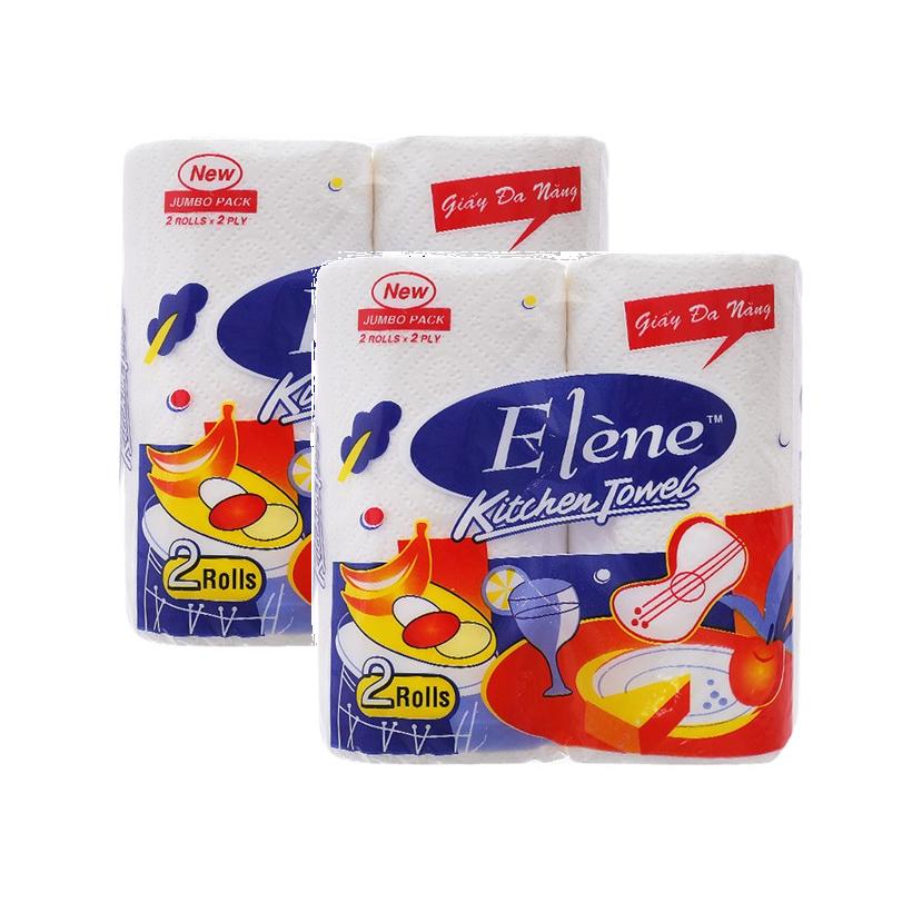 Khăn bếp đa năng Elène 2 cuộn (2 lớp)