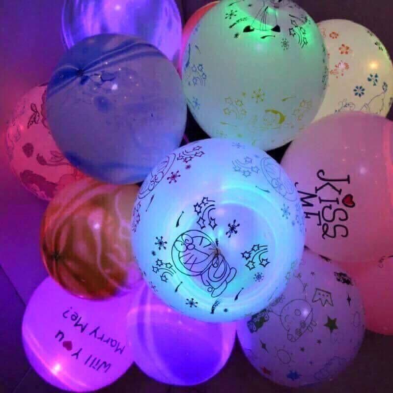 5k - Bong bóng bay phát sáng có hình cực đẹp giá sỉ và lẻ rẻ nhất