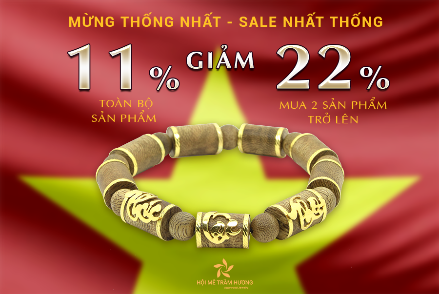 [30/4 - 1/5] MỪNG THỐNG NHẤT - SALE NHẤT THỐNG - SALE UP TO 22%