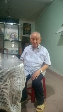 Cao Duc T, 93 years old in Tan Binh district