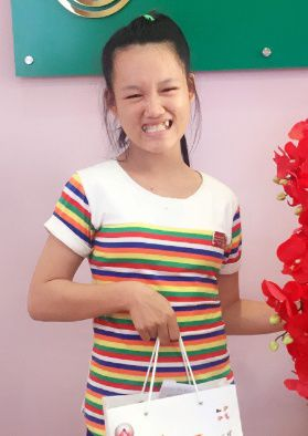 Nguyen thi V, 18 years old, in Binh Phuoc province
