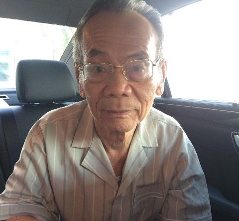 Nguyen Trong T, 86 years old, in Tan Binh district