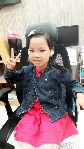 Thai Ngoc Anh T, 8 years old, in Binh Chanh