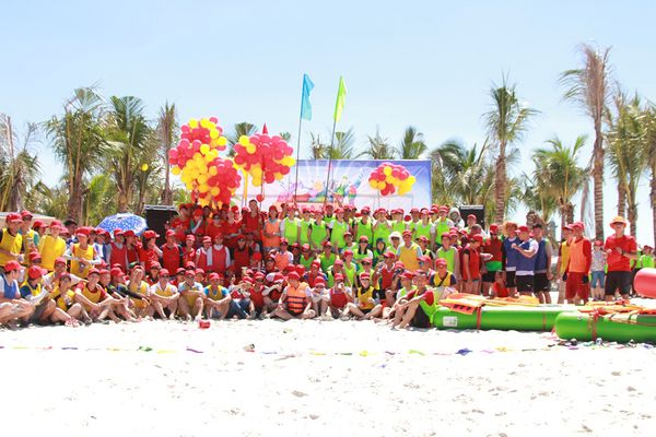 Team building bãi biển 1
