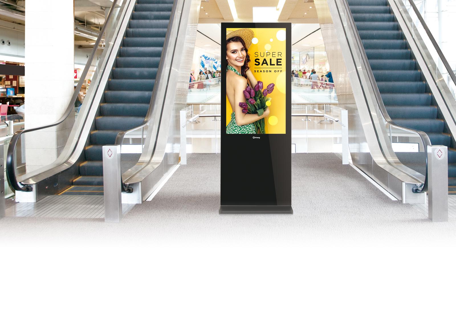 Màn hình quảng cáo chân đứng | màn hình chân đứng giá rẻ