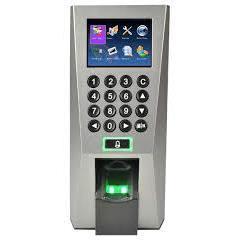 Máy chấm công và kiểm soát cửa nhận dạng Vân tay và thẻ RIFD F18