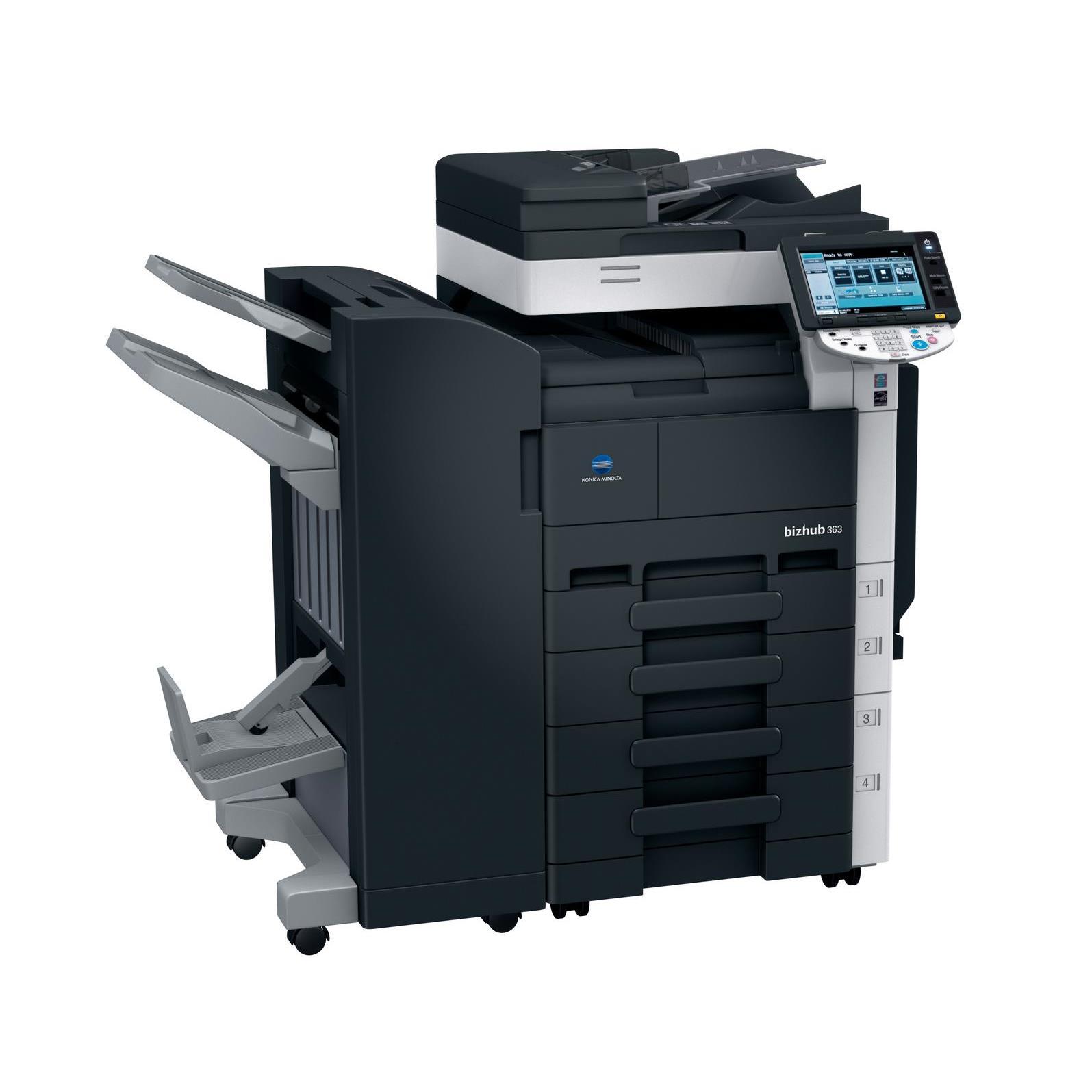 Máy photocopy Konica Minolta Bizhub-363