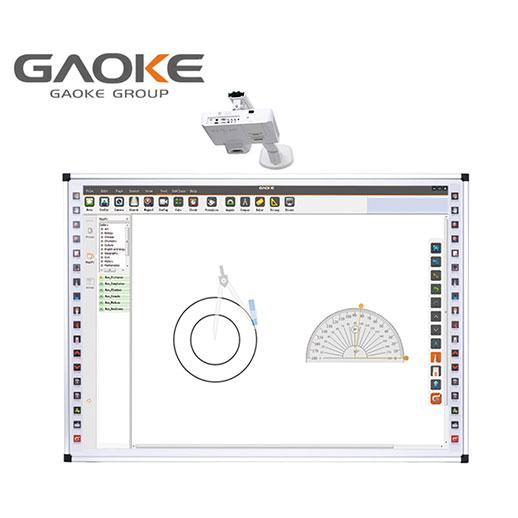 Bảng tương tác thông minh Gaoke 100 inch 10 chạm
