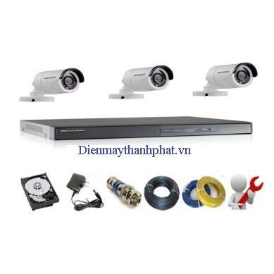 Trọn bộ Camera HD giá rẻ
