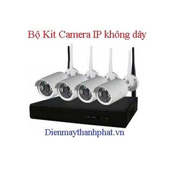 Bộ Kit Camera IP không dây